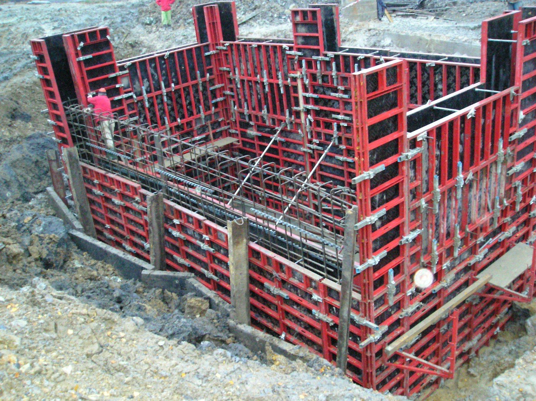 Provádění železobetonových konstrukcí